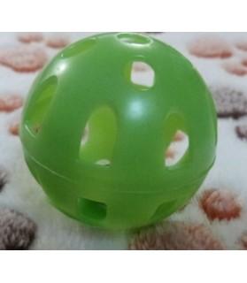 jouets chat Balle à grelot en plastique pour chat  1,00€