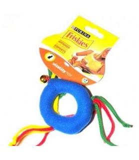 jouets chat Jouet chat anneau tissu et grelot  3,00€