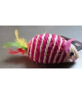 jouets chat Jouet souris corde pour chat  1,00€