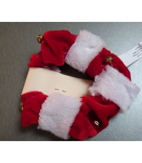 jouets chat Jouet chat de Noel rouge et blanc  3,00€