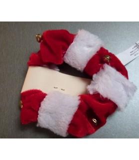 peluches pour chat Jouet chat de Noel rouge et blanc  3,00€