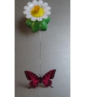 jouets chat Jouet fleur à papillon pour chat  5,00€