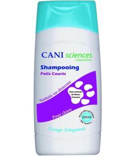Shampooing pour chien ou chiot Shampooing Poils courts Cani Sciences Cani sciences Laboratoires 12,00€