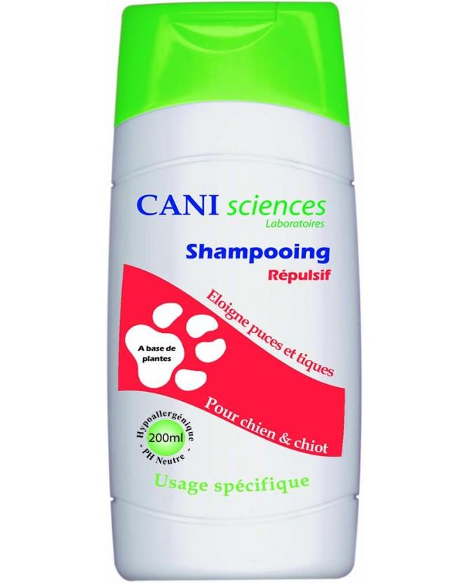 Antiparasitaire canin Shampooing Répulsif Cani Sciences Cani sciences Laboratoires 12,00€