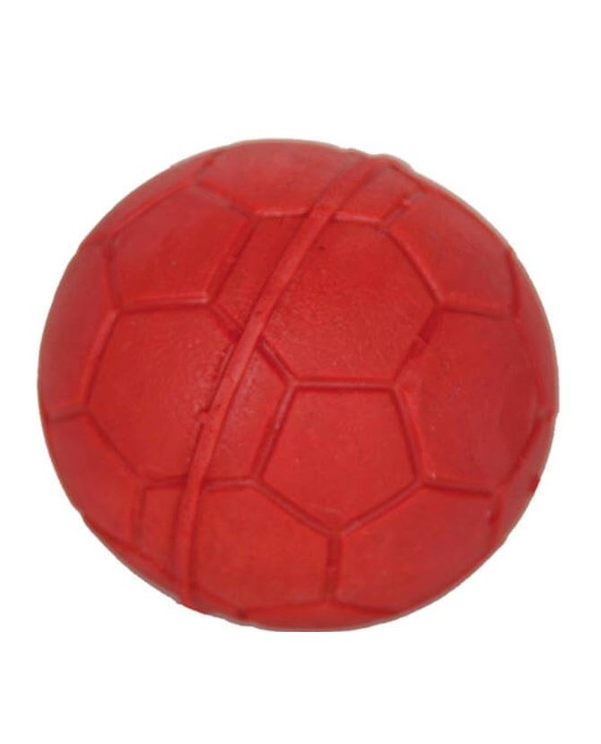 Jouets canins durs Jouet chien Rubb'n'Red balle Rubb'n'Roll 7,00€