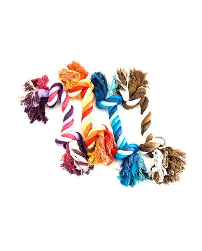 Jouets dentitions canines Jouet cordes 2 noeuds Martin Sellier 7,00€