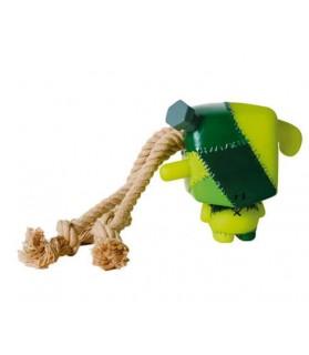 Jouet chien Frankenstein en corde