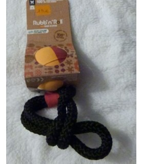Jouets canins durs Jouet Rubb'n'Color Ball'N'Rope Rubb'n'Roll 13,00€