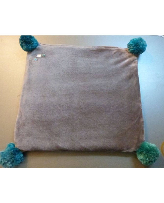 Couchages chat Coussin Velouté Dauphin Chez Anilou 12,00€