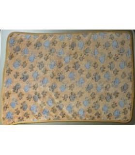 Couvertures canines Couverture marron motif Pattes  6,00€
