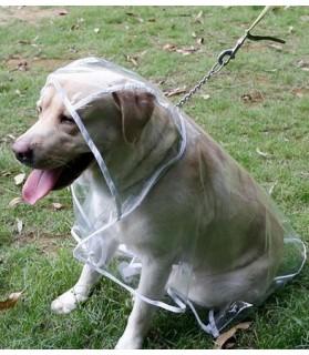 Imperméables Imperméable transparent pour chien  9,00€