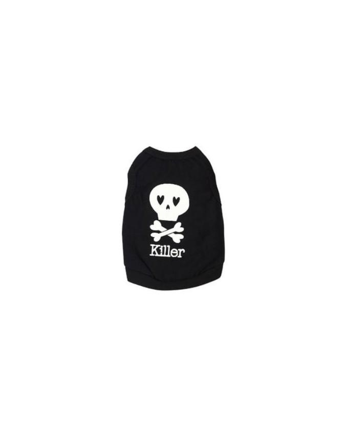 Tee-shirts Tee-shirt killer pour chien  6,50€