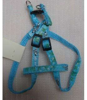 Harnais petits chiens Harnais bleu Foufou petit chien  7,00€
