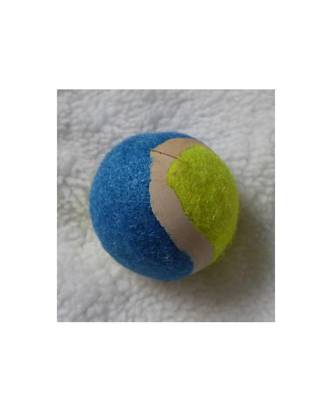 jouets chat jouet balle jaune et bleu pour chat  1,00€