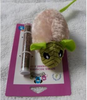 jouets chat Jouet souris avec herbe à chat  7,00€