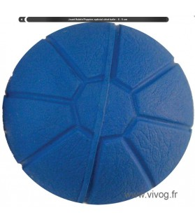 Jouets canins durs Balle dure bleu pour chiot Style Volley Rubb'n'Roll 6,00€