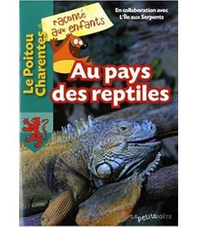 librairie animaux Au pays des Reptiles - Edt° La petite boite  1,00€