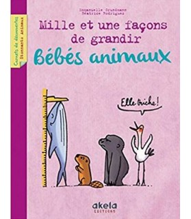 librairie animaux Les bébés animaux - Edt° Akela  5,00€