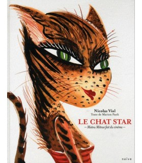 librairie animaux Le chat star de Nicolas Vial et de Marion Paoli  12,00€