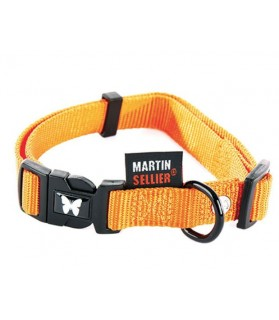 Colliers nylon Collier pour chien nylon orange 30-45 cm Martin Sellier 8,00€
