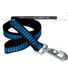 Laisses de promenade chien ou chiot Laisse courte Nylon Domino pour chien VIVOG 7,00€
