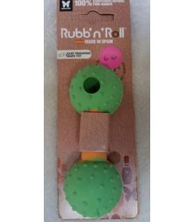jouets canins friandises Jouet haltère friandises et dents pour chiot Rubb'n'Roll 6,00€