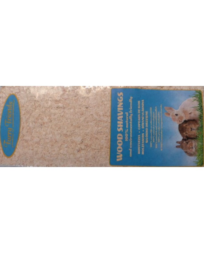 Hygiène et soins rongeurs Copeaux de bois naturel  5,00€