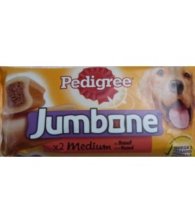Friandises pour chien Os à mâcher Medium pour chien - Pedigree Pedigree 4,00€