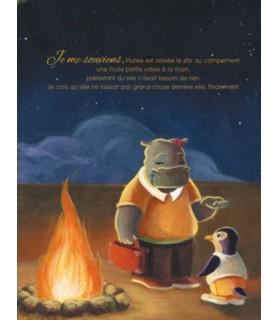 librairie animaux Une Plume Ronde, Une histoire de Delphine Bertoletti illustrée par Mélanie Desplanches  13,50€