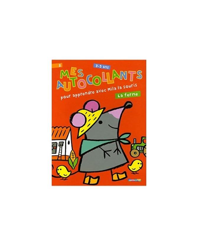 librairie animaux Mes autocollants - Pour apprendre avec Mila la souris - La ferme  3,50€