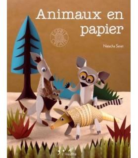 librairie animaux Les animaux en papier de Natacha Seret  14,50€