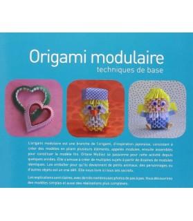librairie animaux Origami modulaire - Technique de base - Orlane Mulliez  15,50€