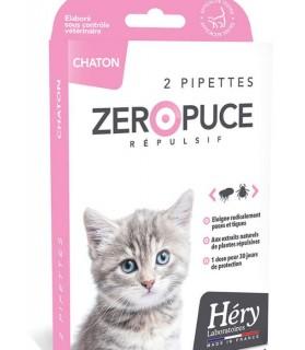 Chats Pipette chaton Zéro Puce Héry 1mlx2 Laboratoire Héry 7,00€