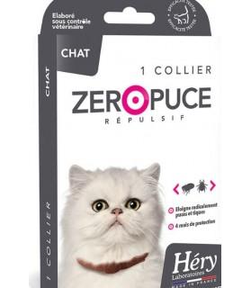 Hygiène et santé du chat Collier répulsif puces et tiques pour chat - Hery Laboratoire Héry 8,00€