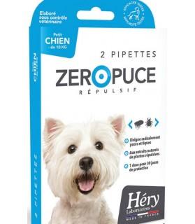 Pipettes Répulsives puces et tiques pour petit chien Laboratoire Héry 188875HS antiparasitaires canins