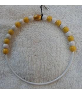 Perchoirs Perchoir or et jaune 12 cm de diamètre - ChezAnilou Chez Anilou 8,00€