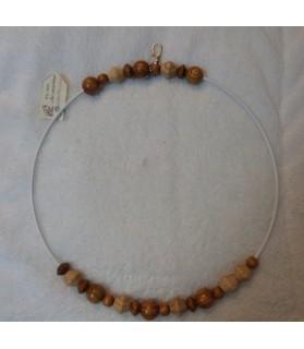 Perchoirs Perchoir pour perroquet serti de perles en bois naturel - ChezAnilou Chez Anilou 17,00€