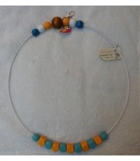 Perchoirs Grand Perchoir serti de perles en bois naturel - ChezAnilou Chez Anilou 17,00€