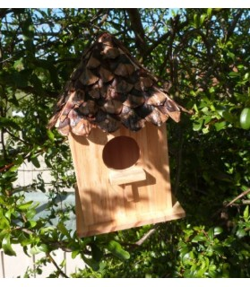 Nids douillets Nid pour oiseaux - 4 pans - ChezAnilou Chez Anilou 14,00€
