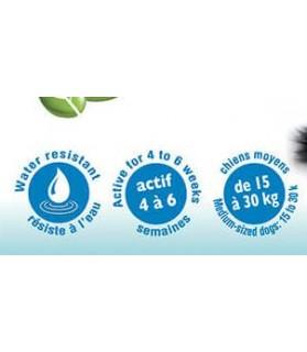 Antiparasitaire canin 2 pipettes antiparasitaires répulsif pour moyen chien - extrait végétal naturel - Vivog VIVOG 9,00€