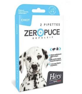 Pipettes Répulsives puces et tiques pour chiot Hery Laboratoire Héry 188882HS antiparasitaires canins