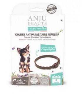 Antiparasitaire canin collier antiparasitaire répulsif puces, tiques et moustiques petit chien - Anju Beauté ANJU BEAUTE 8,00€