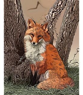 "Poster ""Le renard"""