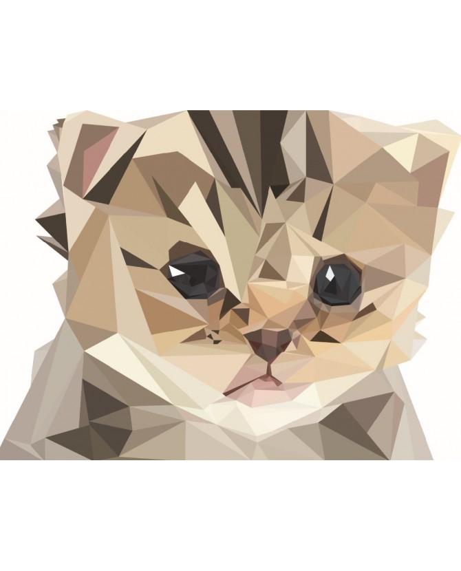 Peintures sur les chats Poster Komiko le chaton Chez Anilou 17,00€
