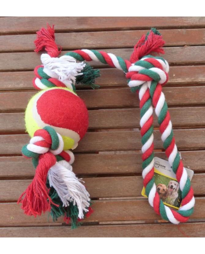 Jouets chien à lancer Jouet chien balle-noeud à lancer pour chien Mutli-marques 7,00€
