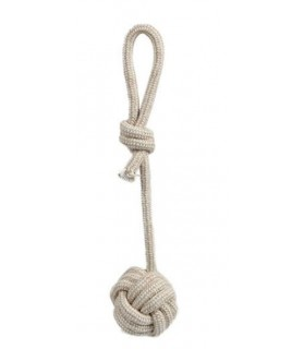 Jouets canins durs jouet chien - Corde noeud + balle VIVOG 8,00€