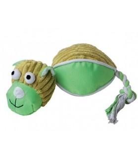 jouets canins sonores jouet chien Peluche sonore chien vert VIVOG 12,00€