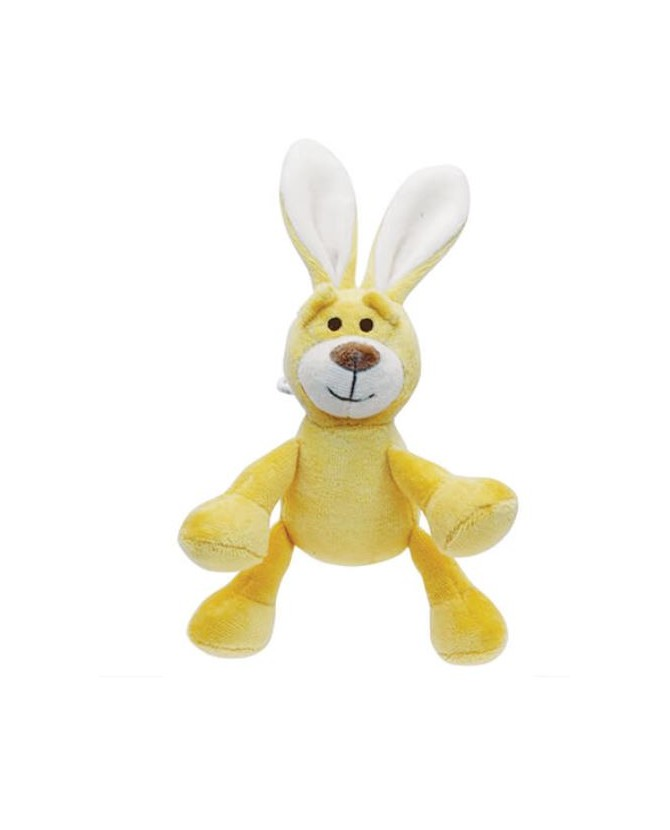 jouets canins sonores Jouet chien peluche lapin jaune Martin Sellier 7,00 €