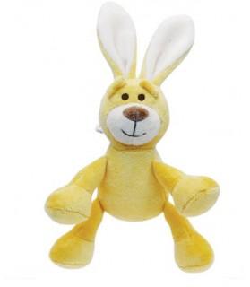 Peluches pour chien Jouet chien peluche lapin jaune Martin Sellier 7,00€