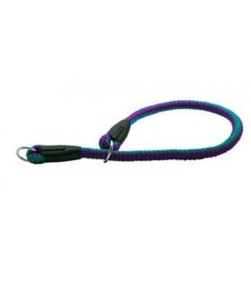 Colliers de Travail Collier lasso chien en corde fluo mauve 14 mm x 65 cm Doogy 7,00€